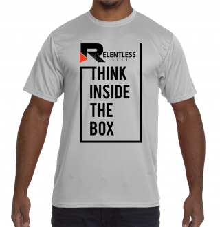 Think Inside the Box Crossfit Shirt Front