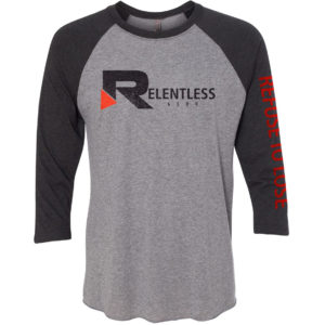 Refuse to Lose Baseball Tee
