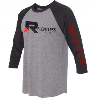 Refuse to Lose Baseball Tee Side