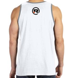 Relentless Hustle Tank Top Back White
