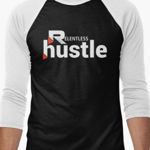 Relentless Hustle Baseball Tee