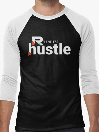 Relentless Hustle Baseball Tee